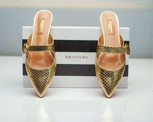 Aquazzura-Gold-Ladies-Flat2